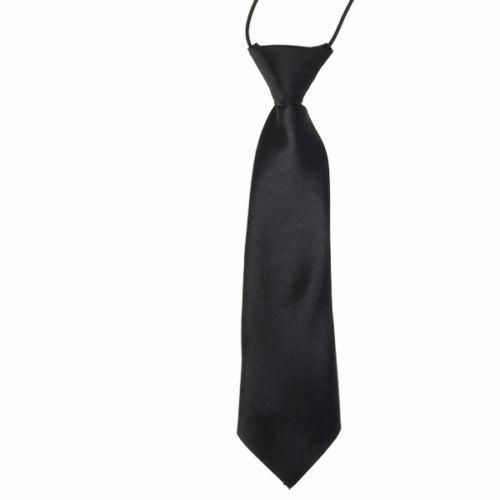 New UK Stock Boys Satin Pageboy Wedding Prom Dinner Formal Suit Elastic Ties