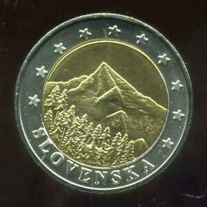 SLOVAQUIE     2 EURO  ( essai )  (  SPL )