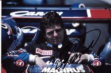 Derek Warwick SIGNED  Toleman-Hart TG183B Portrait  1983 Grand Prix Season