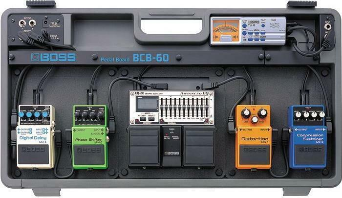 Boss BCB60 Pedal Board carry Case