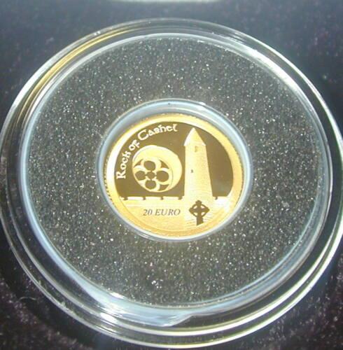 THE ROCK OF CASHEL. IRELAND TWENTY  EURO PROOF GOLD COIN 2013