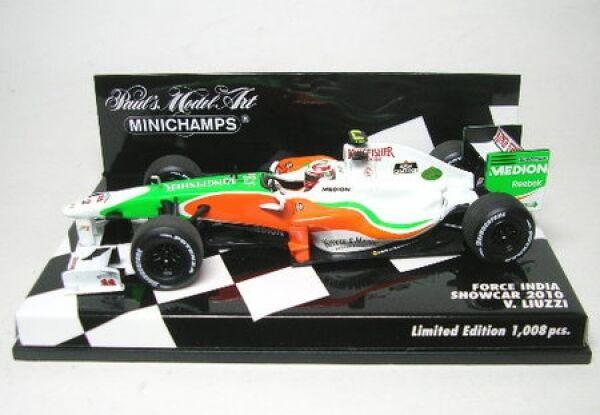Force India no. 15 V.LIUZZI V.LIUZZI V.LIUZZI Formula 1 SHOWCAR 2010 f9565f