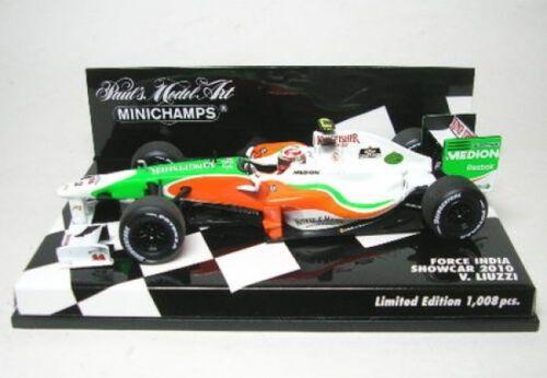 Force India No Liuzzi Formel 1 Showcar 2010 15 V