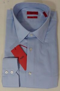 dcf07e8b HUGO BOSS C-MENZO US RED LABEL DRESS SHIRT CLASSIC FIT POINT COLLAR ...