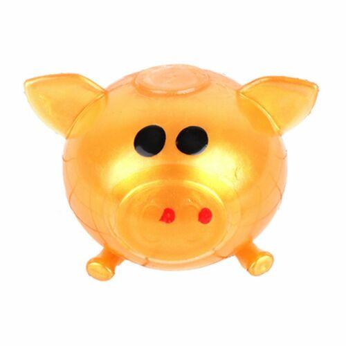 Anti Stress Goods Various Types Pig Toys Decompression Splat Ball