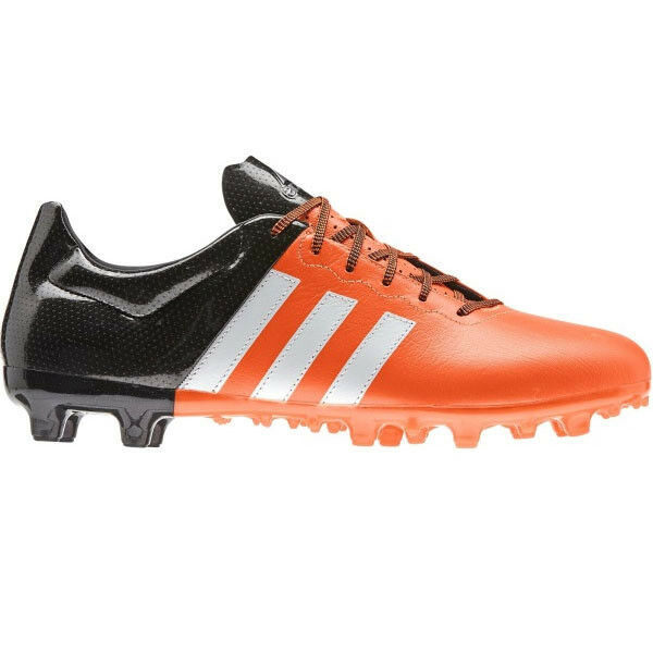 adidas - ACE 15.3 FG/AG LEAT Mens Football Boots Orange Price reduction best-selling model of the brand