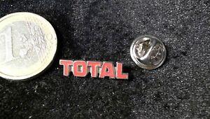 EntrüCkung Total Logo Pin Badge Schriftzug Edel Pins & Anstecknadeln