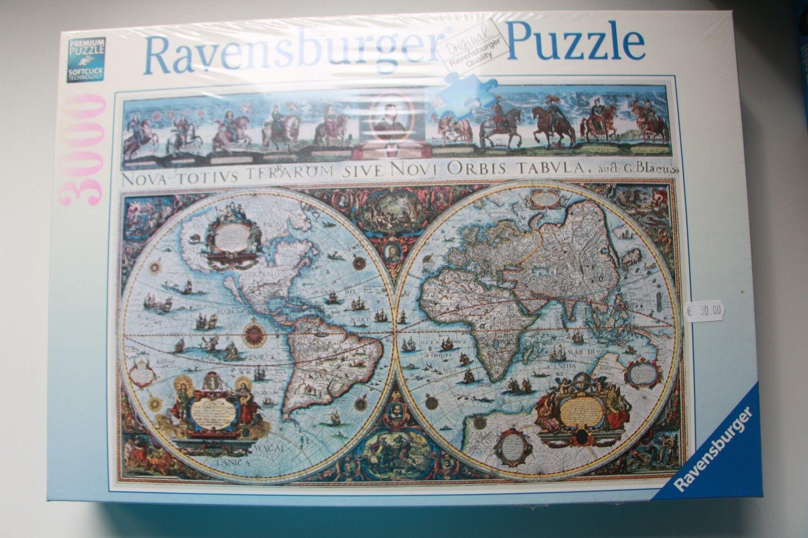 Ravensburger Puzzle 170548 voiturete  du monde 1665 Neuf    Année 1994 in (environ 5064.76 cm) boîte scellée  80% de réduction