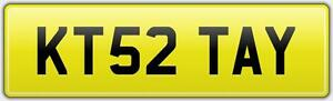 K-TAYLOR-CAR-NUMBER-PLATE-ALL-FEES-PAID-KT52-TAY-KEITH-KEN-KEVIN-KARL-KIRSTY-KT