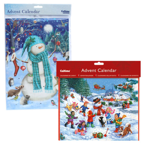 Christmas Perpetual Countdown Snowman Calendar Days To Go 30cm XM4399