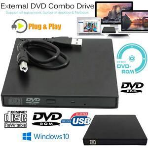 CD-DVD-ROM-Externo-CD-RW-Regrabadora-DVD-Drive-Quemador-Reproductor-Para-Macbook-PC-Laptop