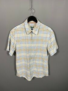 PAUL-SMITH-SHORT-SLEEVED-Shirt-Large-Check-Great-Condition-Men-s
