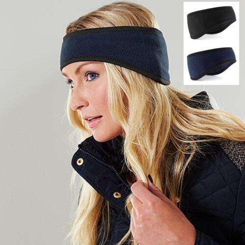 Pour Hommes Femmes Noir ou Bleu Ski Bandeau Polaire Supra Polaire™ Cache