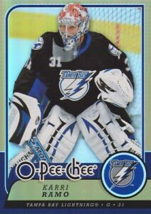 2008-09-O-Pee-Chee-OPC-Gold-Parallel-Hockey-Cards-Pick-From-List