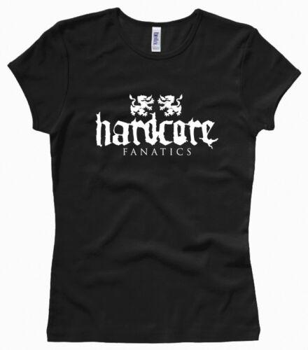 Damenshirt // Girl // Woman Hardcore Fanatics Gr XS bis XL