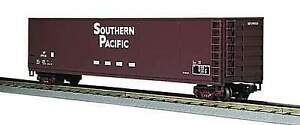 MTH-1-48-O-Scale-Southern-Pacific-Wood-Chip-Hopper-w-Load-Car-Model-20-97504