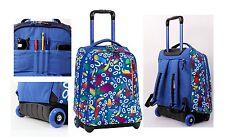 Zaino scuola Invicta Tindy Trolley Fantasy 1615 FG8 roots blue