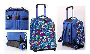Zaino-scuola-Invicta-Tindy-Trolley-Fantasy-1615-FG8-roots-blue