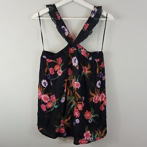 ANTHROPOLOGIE-Sophie-Rue-Womens-Print-Top-Size-M-or-AU-12-US-8