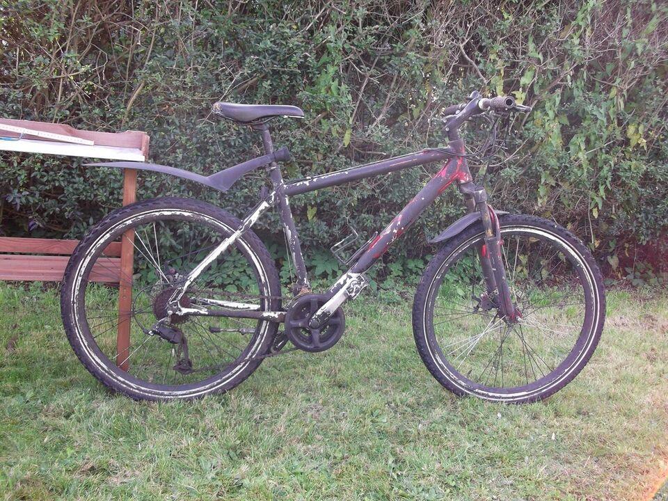andet mærke, anden mountainbike, 49 tommer
