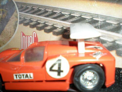 SLOT CAR CIRCUIT RECORD 64 ECH 1//43 AILERON ROUGE CHAPARRAL JOUEF