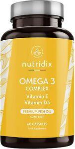 Omega 3 2000 mg per Dose - Acidi Grassi Essenziali DHA ed EPA - Olio di...