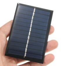6V 0.6W Solar Panel Poly DIY Small Cell Charger For Light Battery Phone