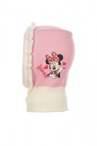 Disney Minnie Mouse Kinder Schlupfmütze Wintermütze Rosa