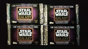 1993-Topps-Star-Wars-Galaxy-Series-1-Trading-Card-4-Pack-Lot