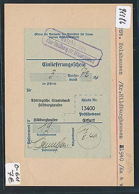 91186) DR > DDR Landpost Ra2 Holzhausen über Heldburg (Kr Hildburghausen) PS