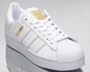 adidas Originals Superstar Bold Women's White Gold Low Lifestyle ...