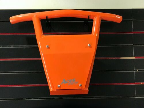 2014-2018 RZR 1000 Turbo Front Bumper POWDERCOATED ORANGE