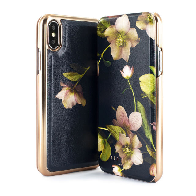88a6833ef Ted Baker Arboretum Mirror Folio Case for iPhone XS Max for sale ...