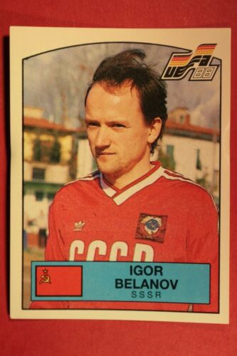 Panini EURO 88 N 258 SSSR BELANOV WITH BACK VERY GOOD//MINT CONDITION!!!