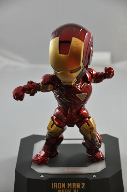 SDCC 2013 EXCLUSIVE EGG ATTACK MARK Vl IRON MAN 2 BY BEAST KINGDOM
