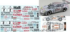 1/43 Decal Porsche 911 GT3 R 'H&R' 24h Nürburgring 2000