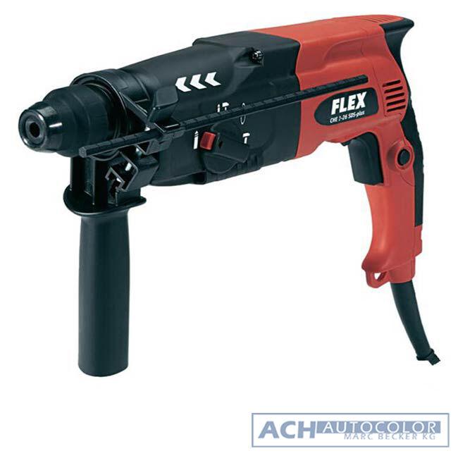 FLEX CHE 2-26 SDS-plus Bohrhammer inklusive Koffer Stemmhammer