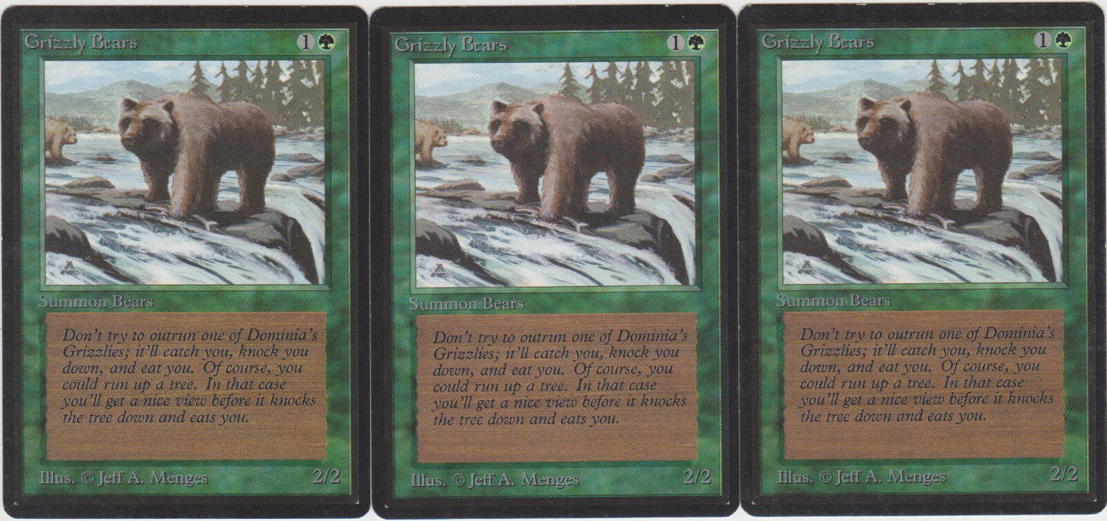Grizzly bears - beta x3 mtg