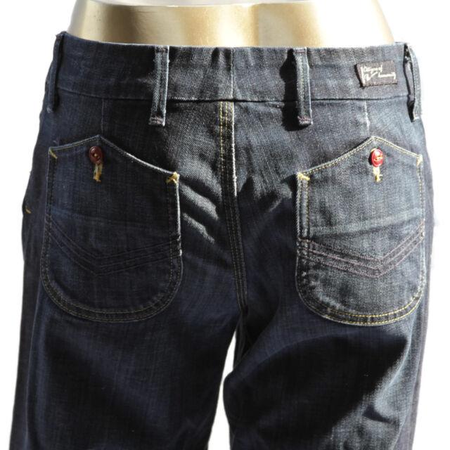 Citizens Of Humanity Cadet Stretch Low Waist Wide Leg Womens Denim Jeans 28