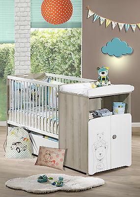 Baby Price by Sauthon Wickelkommode Bett Kinderzimmer Babyzimmer umbaubar