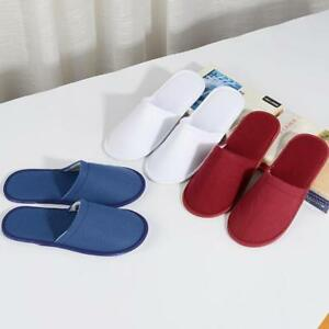 1d1c718ede848 Image is loading 1pair-Soft-Towelling-Hotel-Slippers-Spa-Guest-Disposable-