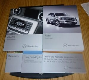 2012 mercedes ml350 owners manual set 12 ml 350 case m class rh ebay com 2012 mercedes ml350 bluetec owners manual 2011 Mercedes ML350