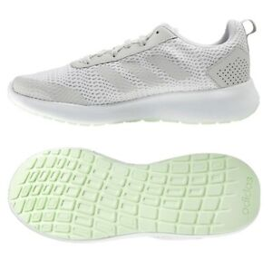official photos 4705f 04bb8 Image is loading Adidas-Women-Element-Race-Training-Shoes-Running-White-