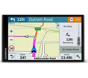 """GARMIN DriveSmart 61 LMT-D 6.95"""" Sat Nav - Full Europe Maps - Currys"""
