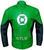Green Lantern Ryan Reynolds Leather Jacket All Sizes Fast Shipping