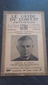 REVUE-LE-GUIDE-DU-CONCERT-ET-DES-THEATRES-LYRIQUES-1930-N-9-R-DE-WARLICH