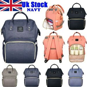 Navy-Multifunctional-Large-Baby-Diaper-Backpack-Mommy-Changing-Bag-Mummy-Nappy