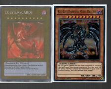 Yugioh Card - Ultra Rare Holo - Red-Eyes Darkness Metal Dragon DUSA-EN068 1st Ed