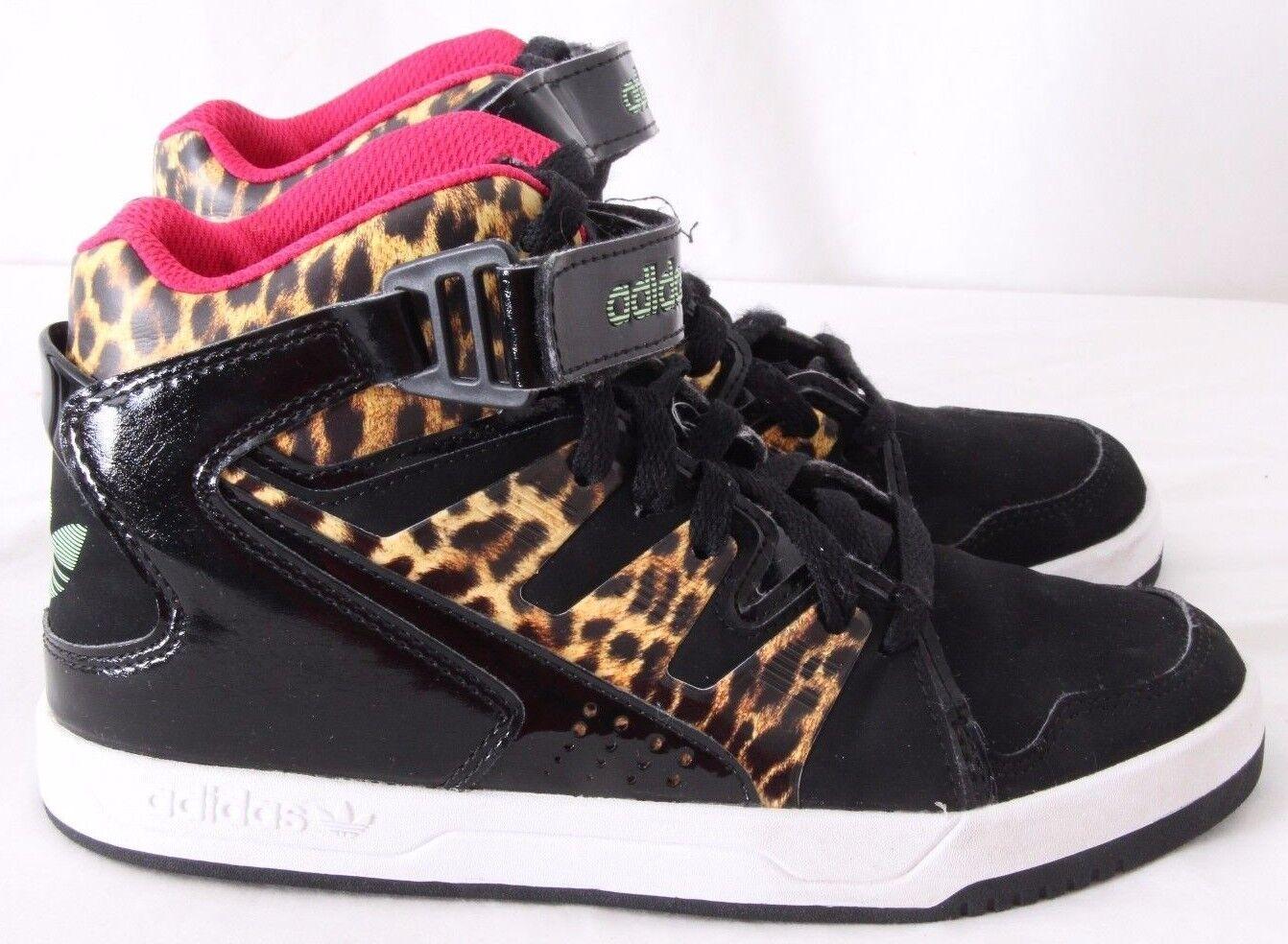 Adidas MC-X1 - Print Cheetah Hi Top - Sneakers à la mode mondialement célèbres - Femmes US 6