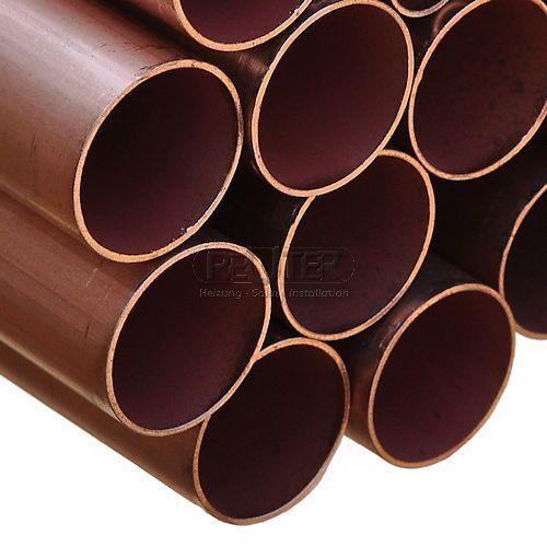 Kupferrohr 5 m Stange  15-18-22-28-35-42 mm